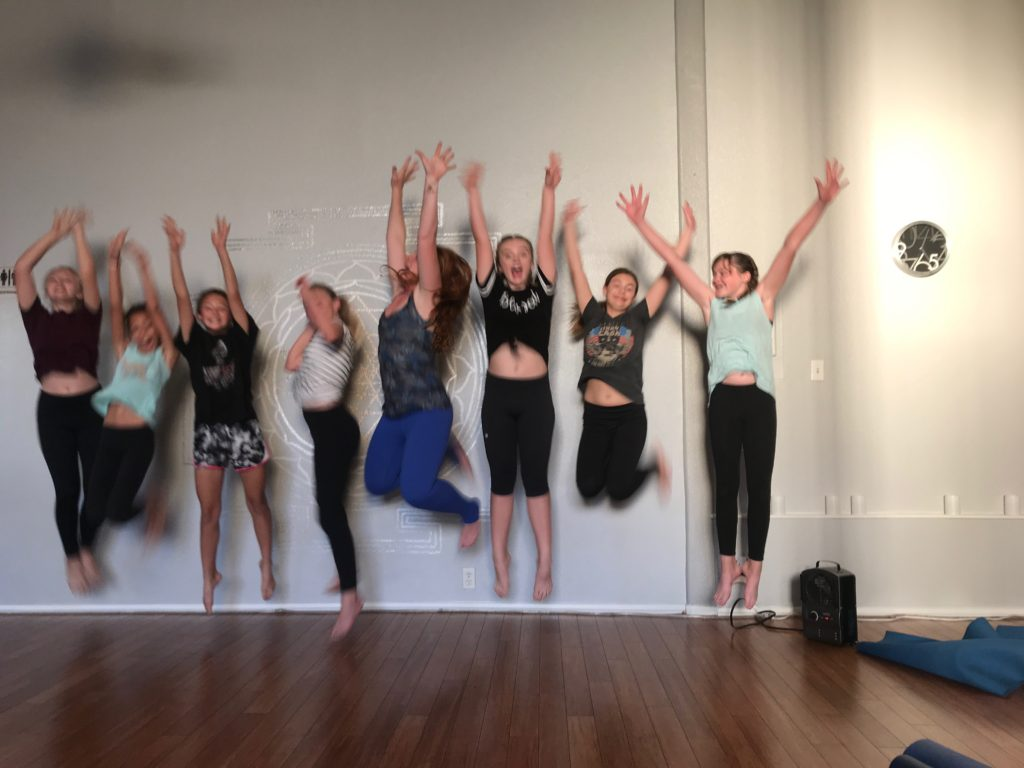 Teen Yoga Jumping Carlsbad
