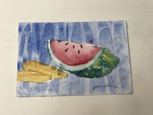 Watermelon Watercolor