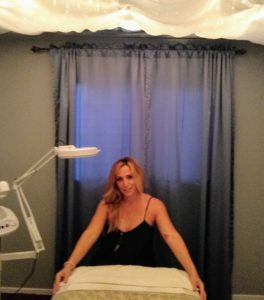 Book a facial with Joy Paul at the Carlsbad Village Yoga Studio.