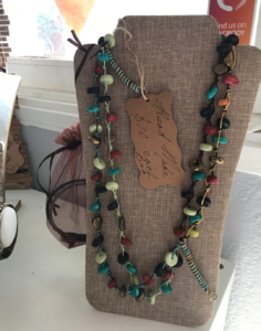Jewelry to help raise money for Vista Teen Outreach for Thanksgiving.